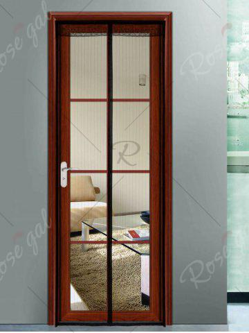 Sale Door Screen Anti Mosquito Mesh Magnetic Curtain - 90*210CM BLACK Mobile
