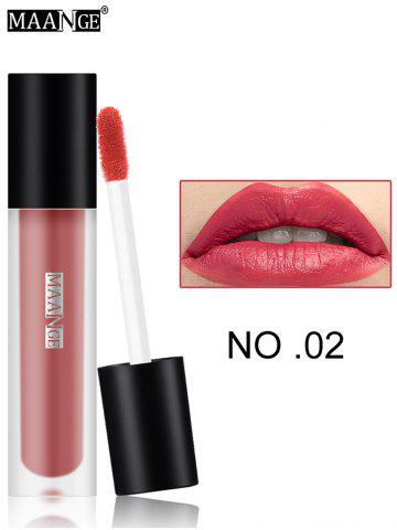Hot Moisturizing Long Wear Matte Lip Glaze #02