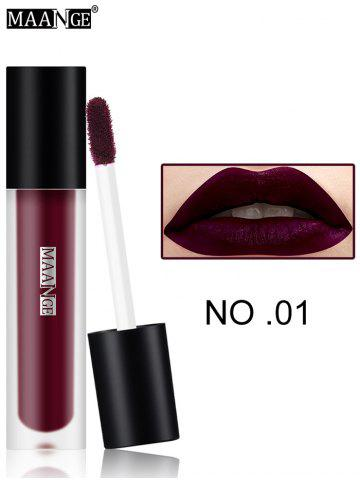 Discount Moisturizing Long Wear Matte Lip Glaze #01