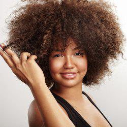 Shaggy Medium Afro Kinky Curly Synthetic Wig