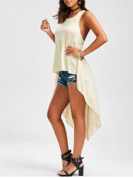 Asymmetric Tunic High Low Tank Top