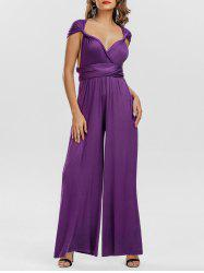 Infinity Convertible Multiway Wide Leg Jumpsuit