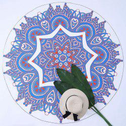 Round Tapestry Mandala Printed Beach Throw