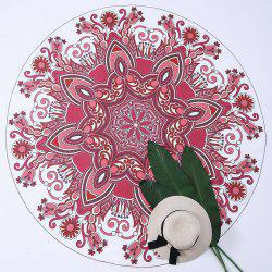 Mandala Fabric Round Tapestry Beach Throw