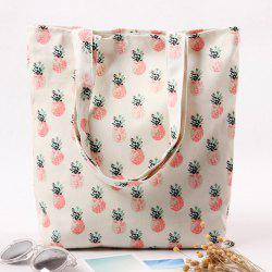 Canvas Printed Shopper Bag