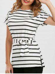 Stripe Tunic Tee