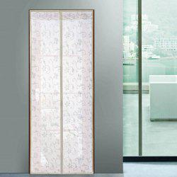Summer Anti Insect Mesh Breathable Magnetic Door Curtain - BEIGE