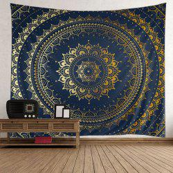 Boho Mandala Print Tapestry Wall Hanging Art Decor
