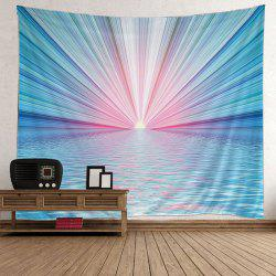 Wall Art Sun Rise Sea Print Tapestry - Pers