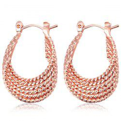 Gypsy Horseshoe Shape Hoop Earrings