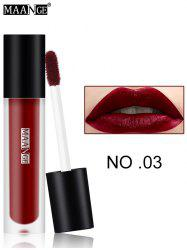 Moisturizing Long Wear Matte Lip Glaze - #03