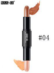 Facial Makeup Highlighter Concealer Double-head Pen Stick - #04