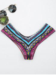 Printed Swimming Thong Panties -