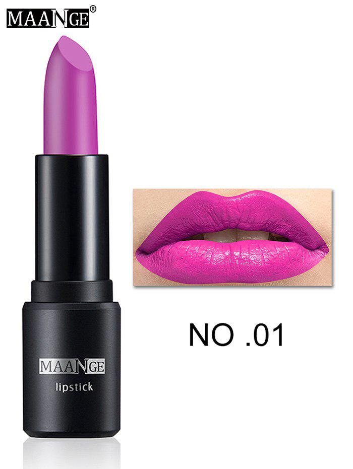 Frosted Matte Long Wear LipstickBEAUTY<br><br>Color: #01; Category: Lipstick; Type: Cream; Features: Limits Bacteria; Season: Fall,Spring,Summer,Winter; Weight: 0.0240kg; Package Contents: 1 x Lipstick;