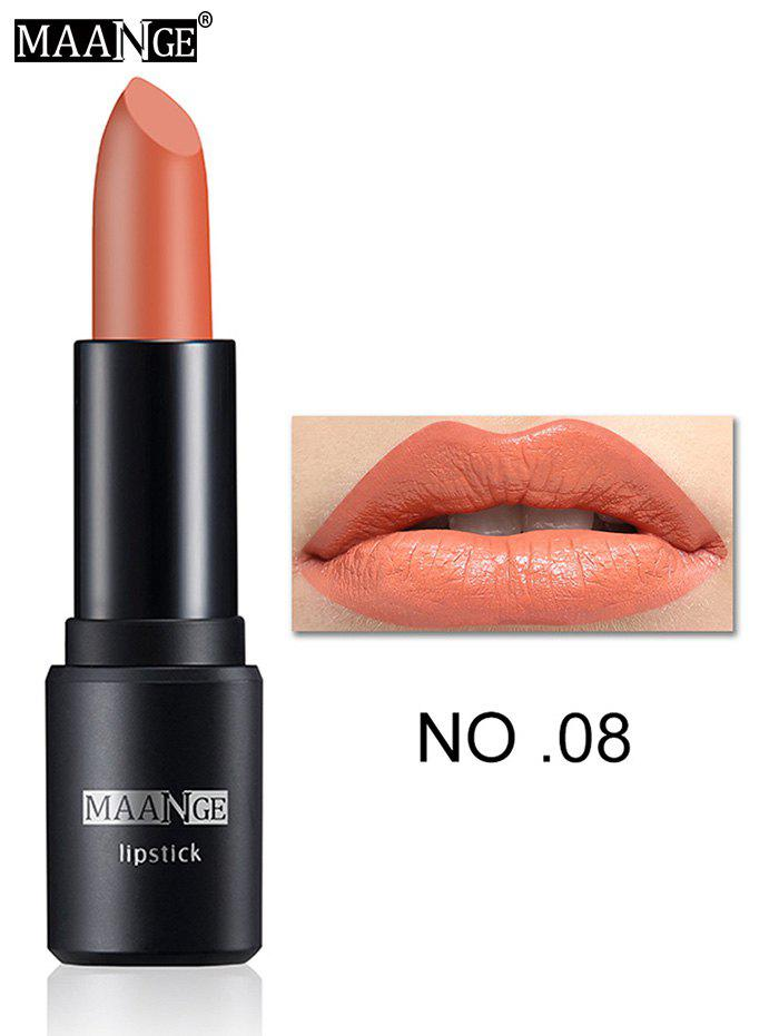 Frosted Matte Long Wear LipstickBEAUTY<br><br>Color: #08; Category: Lipstick; Type: Cream; Features: Limits Bacteria; Season: Fall,Spring,Summer,Winter; Weight: 0.0240kg; Package Contents: 1 x Lipstick;
