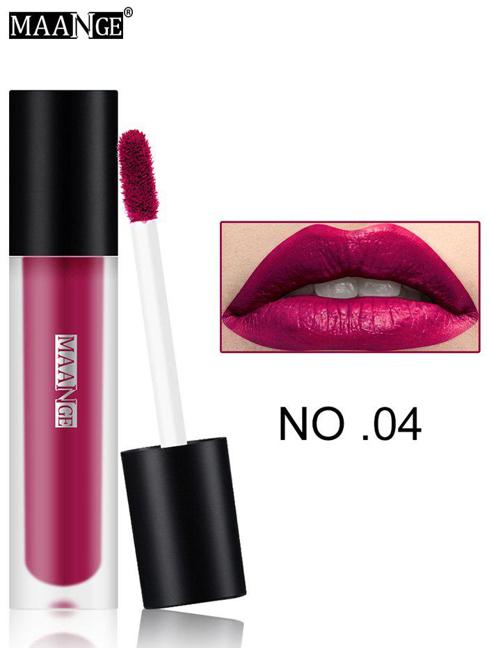 Moisturizing Long Wear Matte Lip GlazeBEAUTY<br><br>Color: #04; Category: Lip Gloss; Type: Cream; Features: Limits Bacteria; Season: Fall,Spring,Summer,Winter; Weight: 0.0300kg; Package Contents: 1 x Lip Gloss;