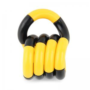 Fidget Twist Tangle Toy Stress Reliever - YELLOW AND BLACK