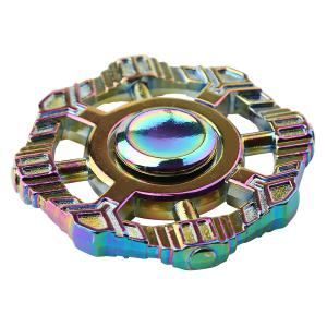 Colorful Fidget Toy Zinc Alloy Finger Spinner - Coloré 6*6*1.2cm