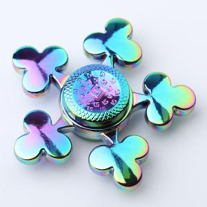Time Killer Stress Relief Toy Fidget Hand Spinner - Colorful - 6*6*1.5cm