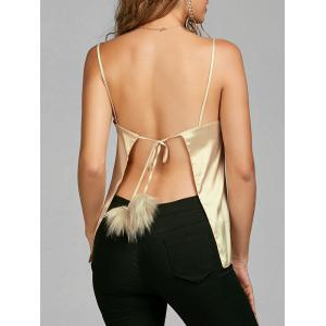 Backless Cami Top