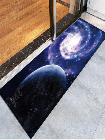 Hot Flannel Skidproof Bath Rug with Galaxy Print - W16 INCH * L47 INCH COLORMIX Mobile