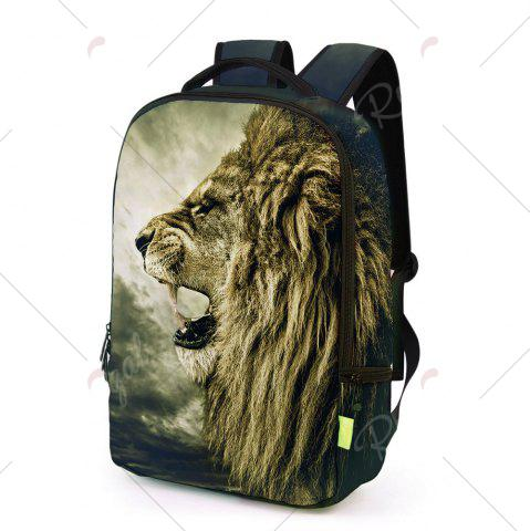 Best 3D Lion Printed Backpack - PALOMINO  Mobile