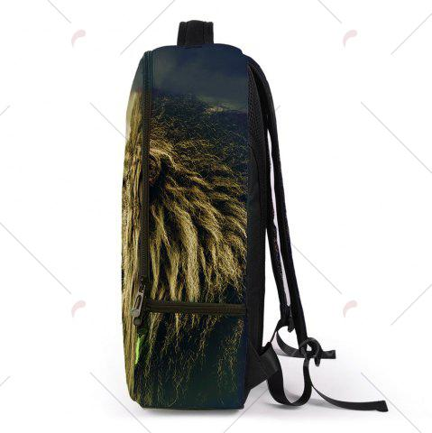 Cheap 3D Lion Printed Backpack - PALOMINO  Mobile