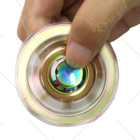 Store Colorful Fidget Toy Zinc Alloy Finger Spinner - 6*6*1.2CM COLORFUL Mobile