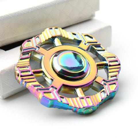 Colorful Fidget Toy Zinc Alloy Finger Spinner Coloré 6*6*1.2cm