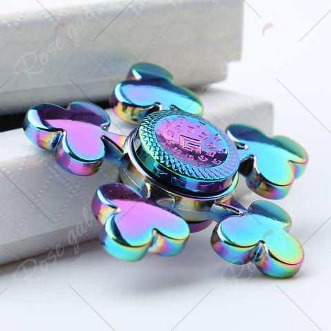 New Time Killer Stress Relief Toy Fidget Hand Spinner - 6*6*1.5CM COLORFUL Mobile