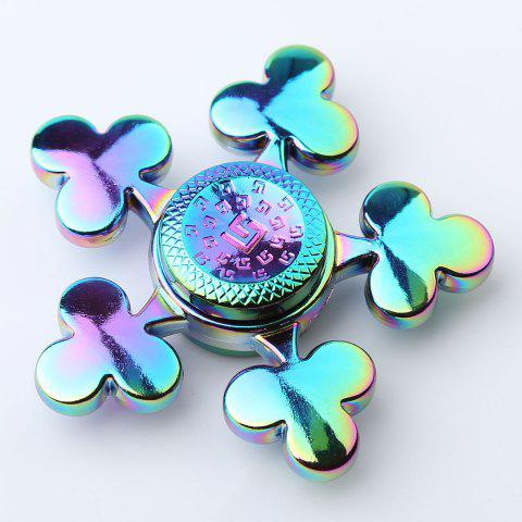 Affordable Time Killer Stress Relief Toy Fidget Hand Spinner - 6*6*1.5CM COLORFUL Mobile
