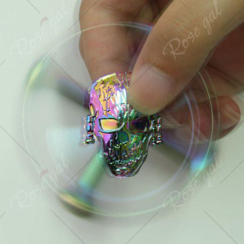 Outfits Colorful Skull Focus Gadget Fidget Hand Spinner - 7*7*1.5CM COLORFUL Mobile