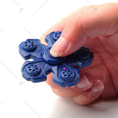 Outfits Metal High Speed Fidget Spinner For Adult or Kids - 6.5*6.5*1.2CM DEEP BLUE Mobile