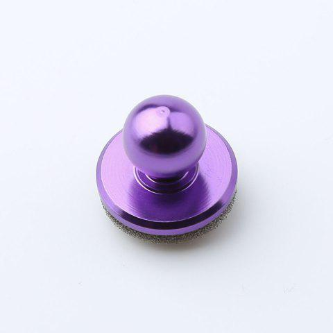 Best Mobile Phone Anti Stress Game Controller Hand Spinner PURPLE 2.5*2.5CM