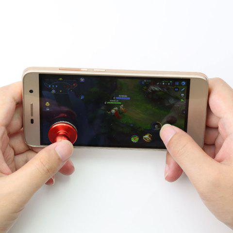 Buy Mobile Phone Anti Stress Game Controller Hand Spinner RED 2.5*2.5CM