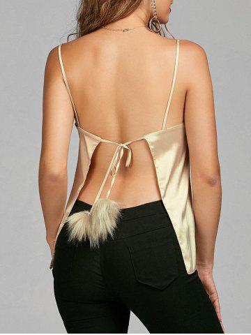 Outfit Backless Cami Top GOLDEN L