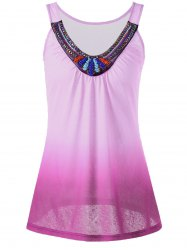 Beaded Ombre Tank Top