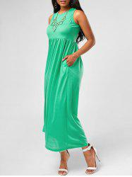 Empire Waist Long Maxi Tank Dress