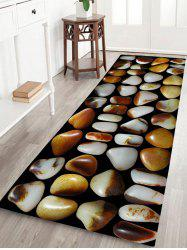 Retro Stone Pattern Water Absorption Flannel Area Rug