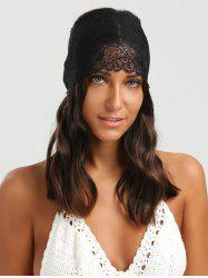 Wide Lace Elastic Sport Headband