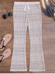 Wide Leg Lace Boho Beach Pants