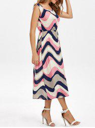 Colorful Zigzag Dress