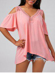 Crochet Cold Shoulder Tunic