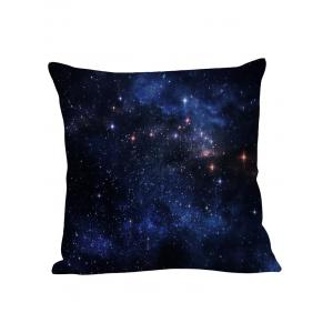 Night Sky Star Decorative Linen Pillow Case