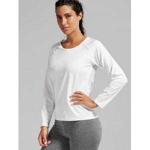 Open Back Quick-dry Sports T-shirt -