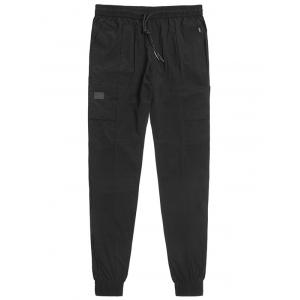 Multi Pockets Drawstring Waist Jogger Pants