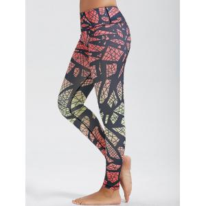 Skinny High Waist Pattern Funky Gym Leggings