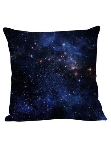 Night Sky Star Decorative Linen Pillow Case - Cerulean - 45*45cm