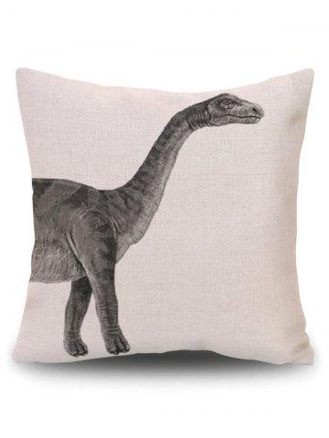 Outfits Home Decor Dinosaur Animal Throw Pillowcase - PATTERN B BEIGE Mobile