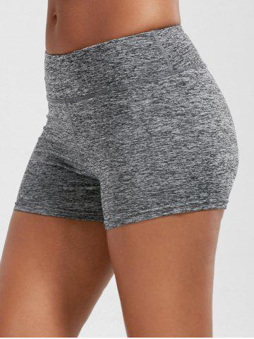 Trendy Mini Gym Running Shorts with Pockets